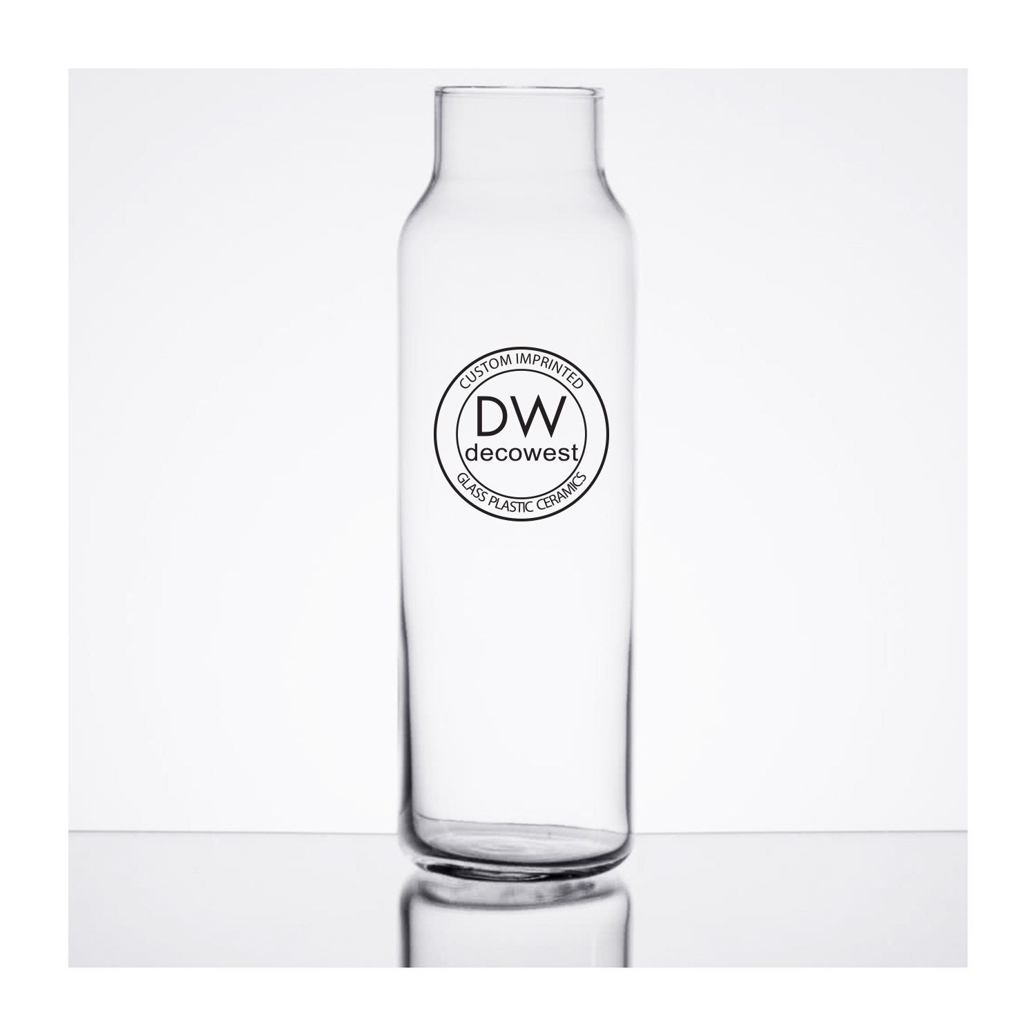 726 24 oz  Glass Hydration Bottle – Deco West, Inc